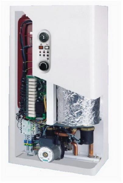 Настенный электрокотел в разрезе