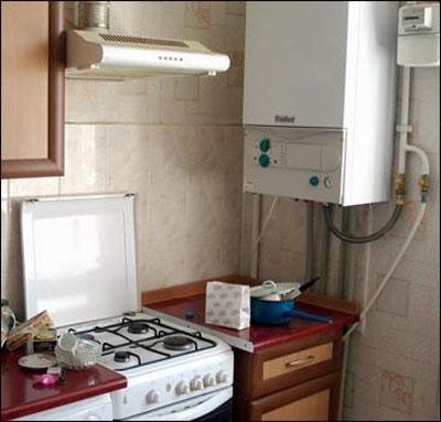 Настенный котёл для системы отопления квартиры
