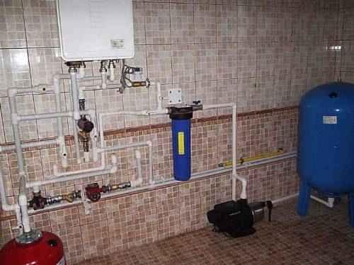 Настенный котел и водоподготовка