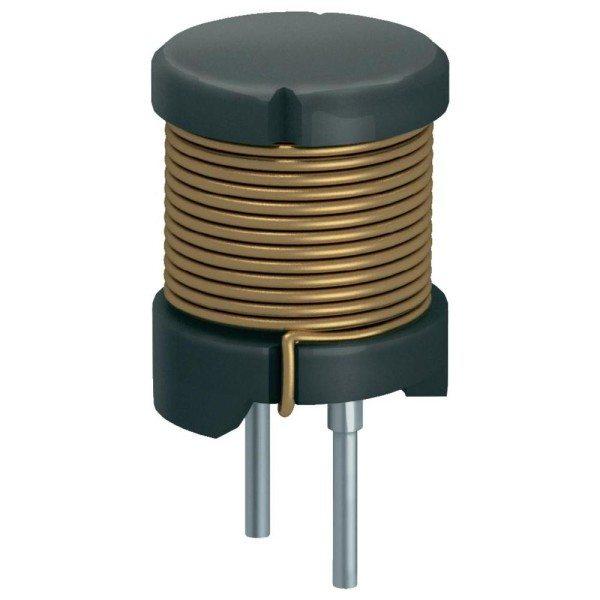 Навитый на трубу медный проводник — эти классическая катушка индуктивности.