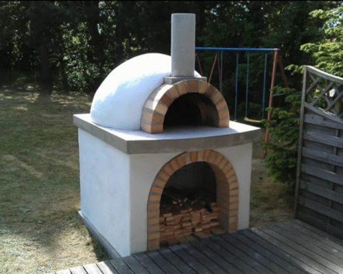 Небольшой тосканской печи вполне достаточно для домашнего использования.