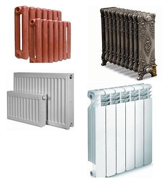 Образцы отопительных радиаторов