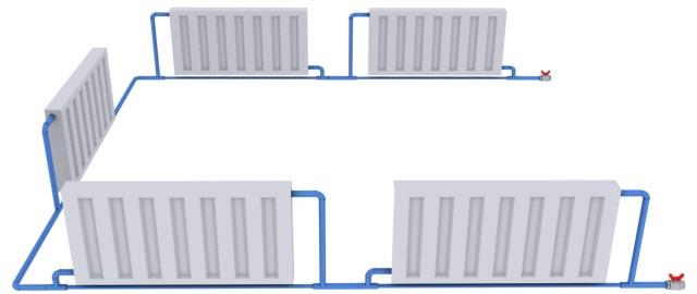 Подключение радиаторов отопление своими руками 161
