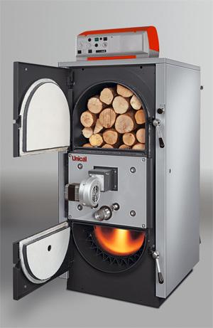 Относительно недорогие пиролизные котлы не знают другого топлива, кроме дров.