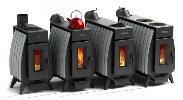 Отопительно-варочные печи Термофор (обратите внимание на современный дизайн)