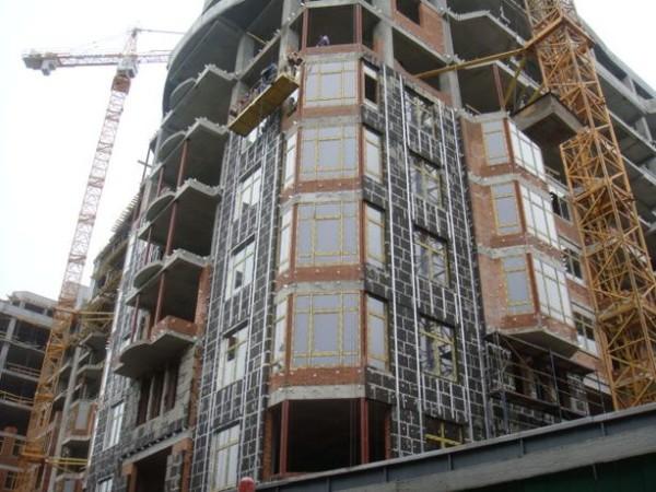 Пеностекло в многоэтажном строительстве.