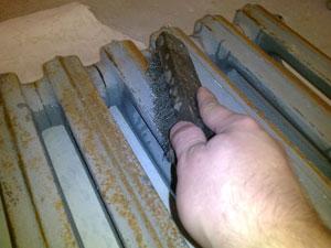 покраска радиаторов и труб отопления