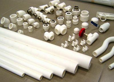 Полипропиленовые трубы и фитинги для соединения