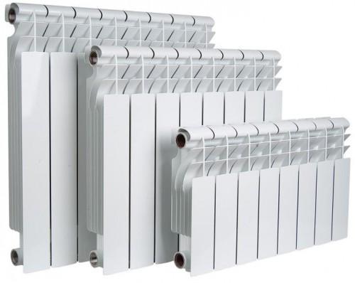 Приборы из алюминия отличаются эргономичным дизайном и развитой системой пластин для повышения теплоотдачи