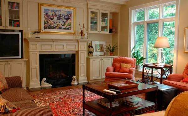 Пример расстановки мебели