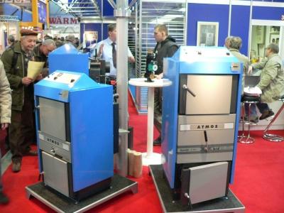 Производство отопительных котлов, функционирующих на твердом топливе.