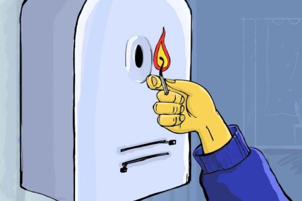 Простая спичка может помочь выяснить причины неисправности газовой колонки и уберечь вашу семью от отравления угарным газом