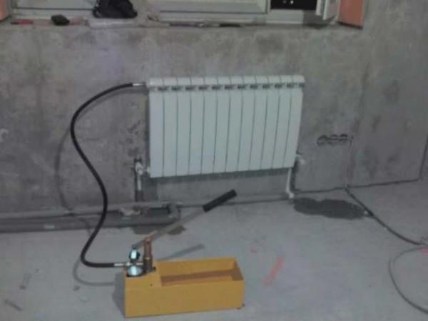 Проверка на герметичность батареи