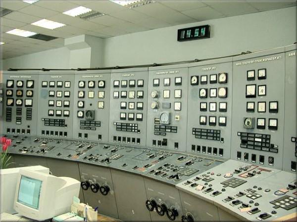 Пункт управления одного из российских ТЭЦ