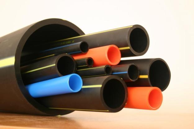 ПВХ трубы для воды и газа отличаются цветом маркировки