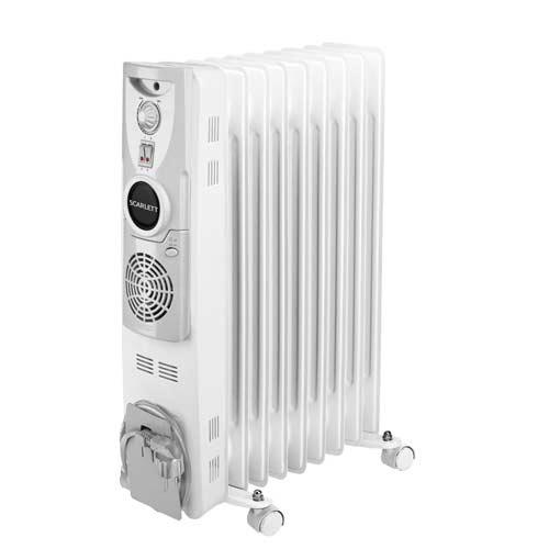 Радиатор, оснащенный вентилятором.