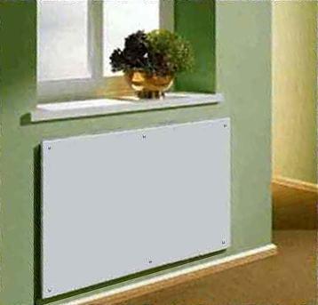 Размещение панели на наружной стене