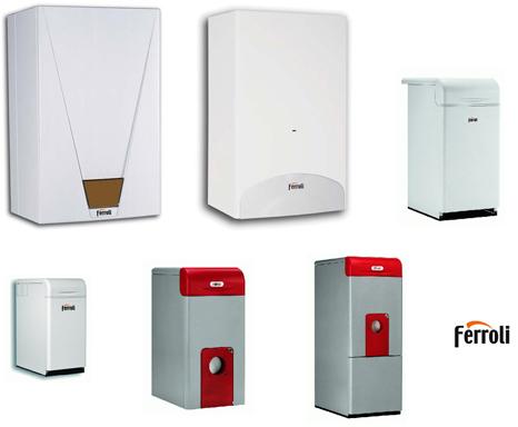 Разные модели из ассортимента Ferroli