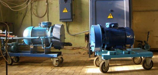 Роторные тепловые генераторы обычно применяются для обогрева производственных помещений