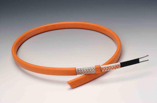 Саморегулирующийся кабель можно нарезать отрезками произвольной длины.