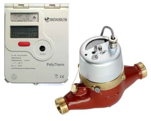Счетчик тепла с механическим расходомером