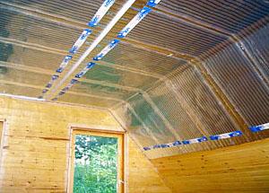 Серьёзный проект отопления дома обязательно включает целый комплекс способов сохранения тепло – утепление полов, стен и потолков среди этих способов занимают далеко не последнее место