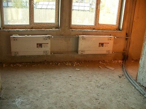 схема обвязки радиатора отопления