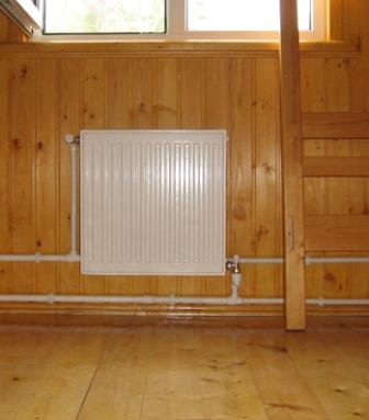 схема однотрубной системы отопления для одноэтажного дома
