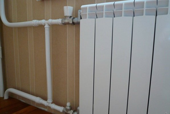Система отопления из стальных труб