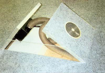 Система распределения воздуха в полу