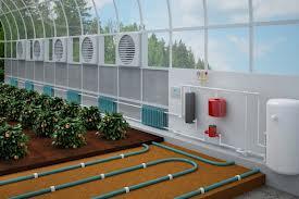 Система «теплого пола» в теплице из поликарбоната
