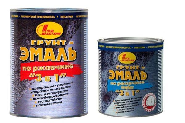 Специальные краски с противокоррозионными добавками — лучшая подготовка металла под утепление