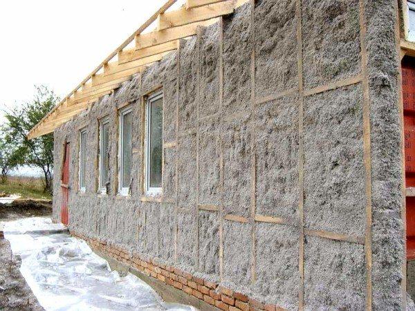 Способ отлично подходит для утепления наружных конструкций
