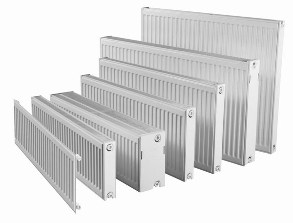 Стальные радиаторы чаще всего имеют панельную конструкцию