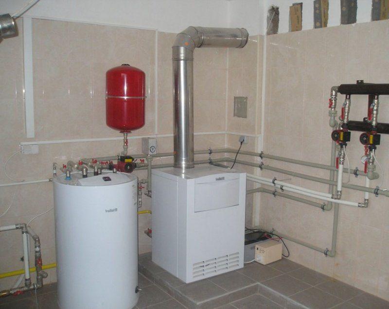 Строительство газовой котельной начинается с расчета отопительного оборудования.