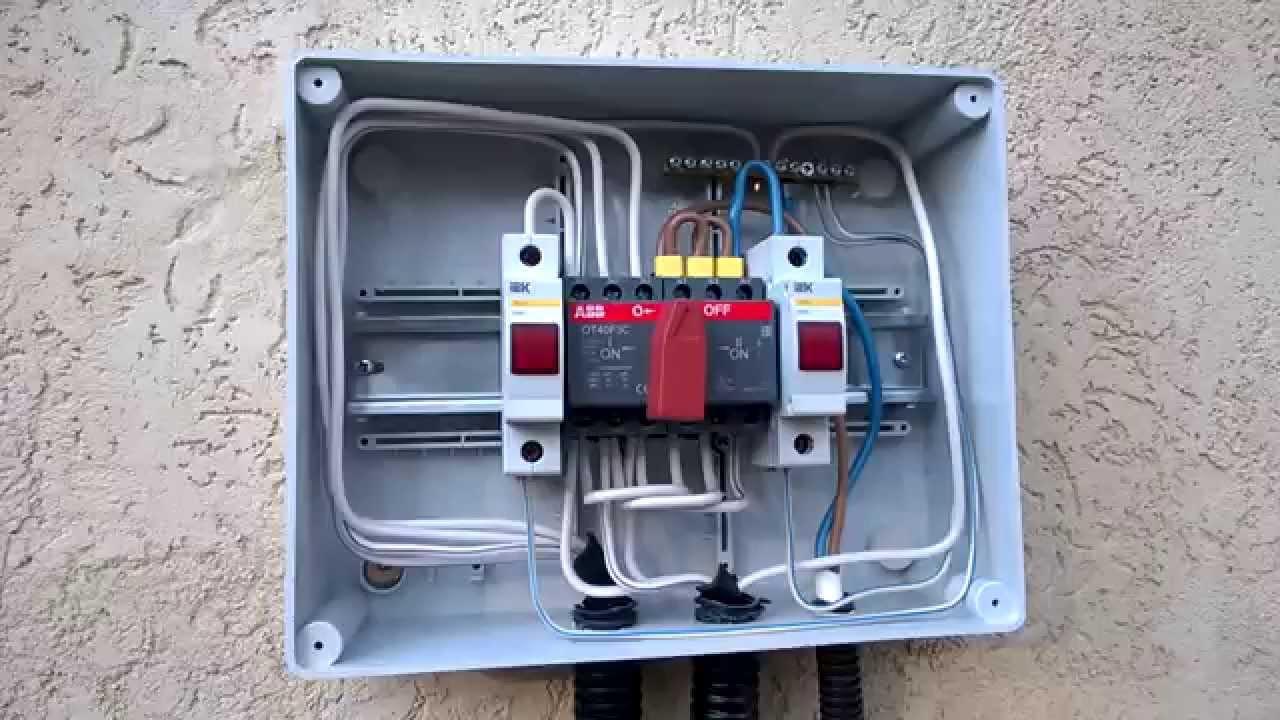 Как подключить генератор к сети дома схема фото 207