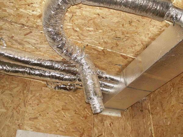 Такие воздуховоды стойки к температуре и обеспечивают прекрасную теплоизоляцию