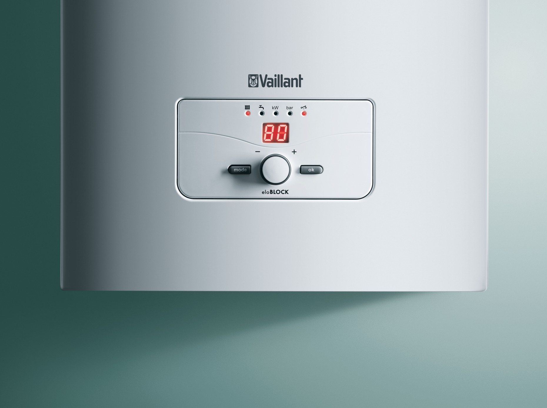 Температура теплоносителя на подаче в автономном отопительном контуре не поднимается выше 80 градусов.
