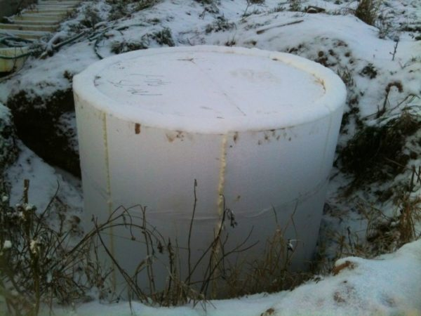 Теплоизоляция колодца защитит воду от замерзания даже при температурах ниже -30 градусов