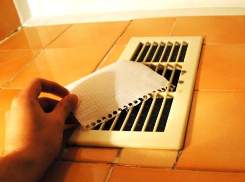 Тестирование работы вентиляционной системы