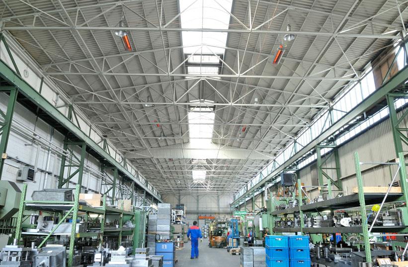 Типичное производственное помещение