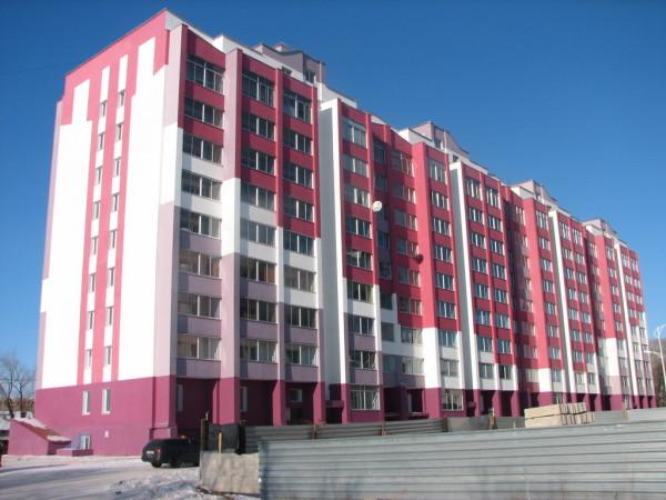 Типичный многоквартирный дом
