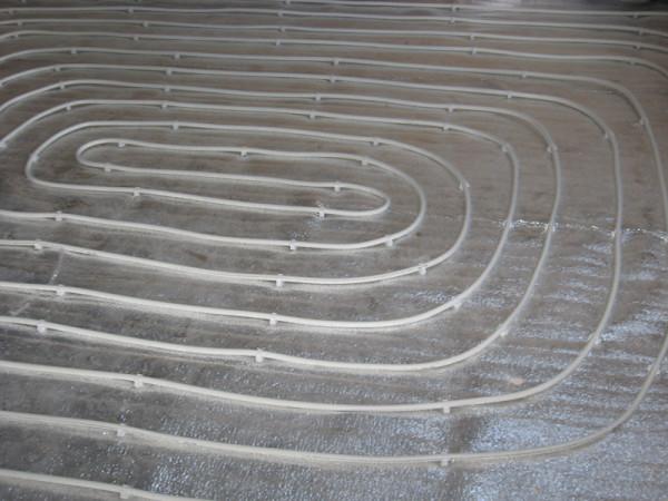 Труба уложена спиралью