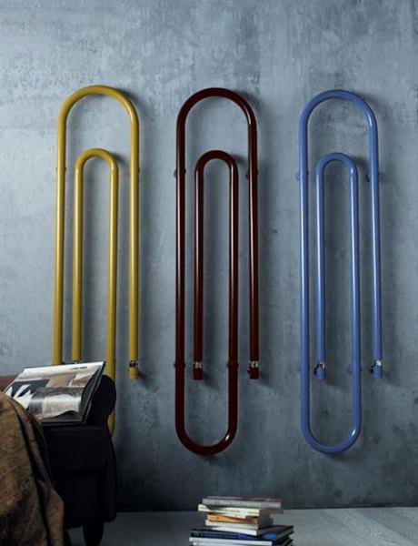 Трубчатые батареи позволяют работать с дизайном и формой