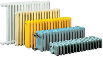 Трубчатые радиаторы – от самых больших до самых маленьких.