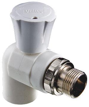 Угловой кран для пластиковой трубы
