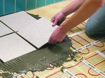 Укладка чистового покрытия