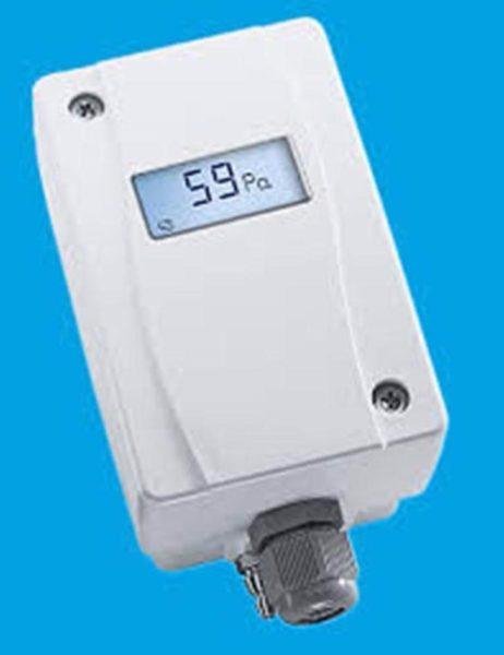 Установите на теплообменник датчик давления воздуха.