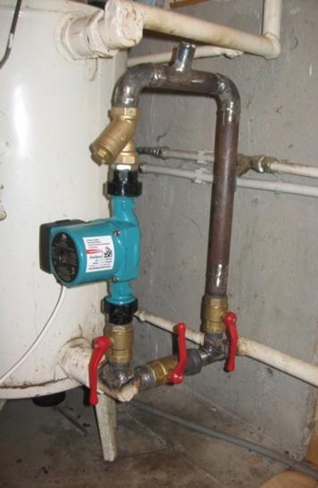 установка насоса в системе отопления