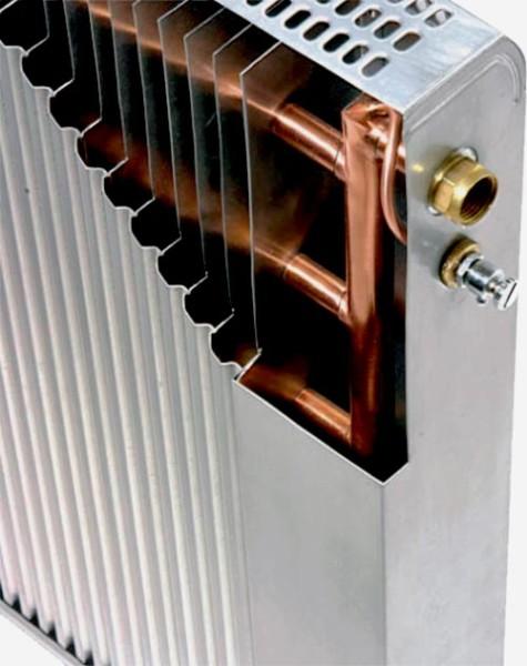 Устройство конвектора отопления.